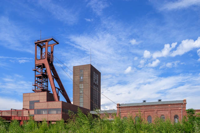 Zeche Zollverein Schacht1/2/8 in Essen